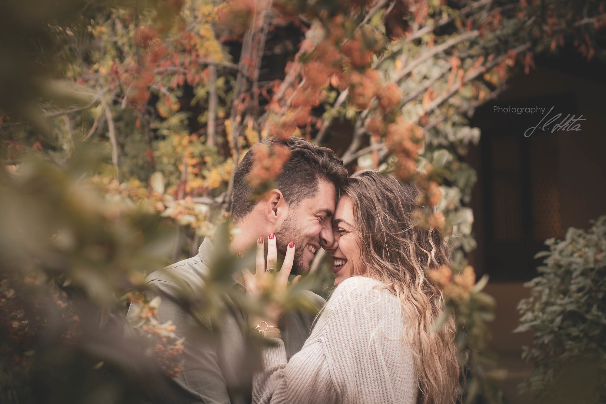 Sesión pareja con encanto
