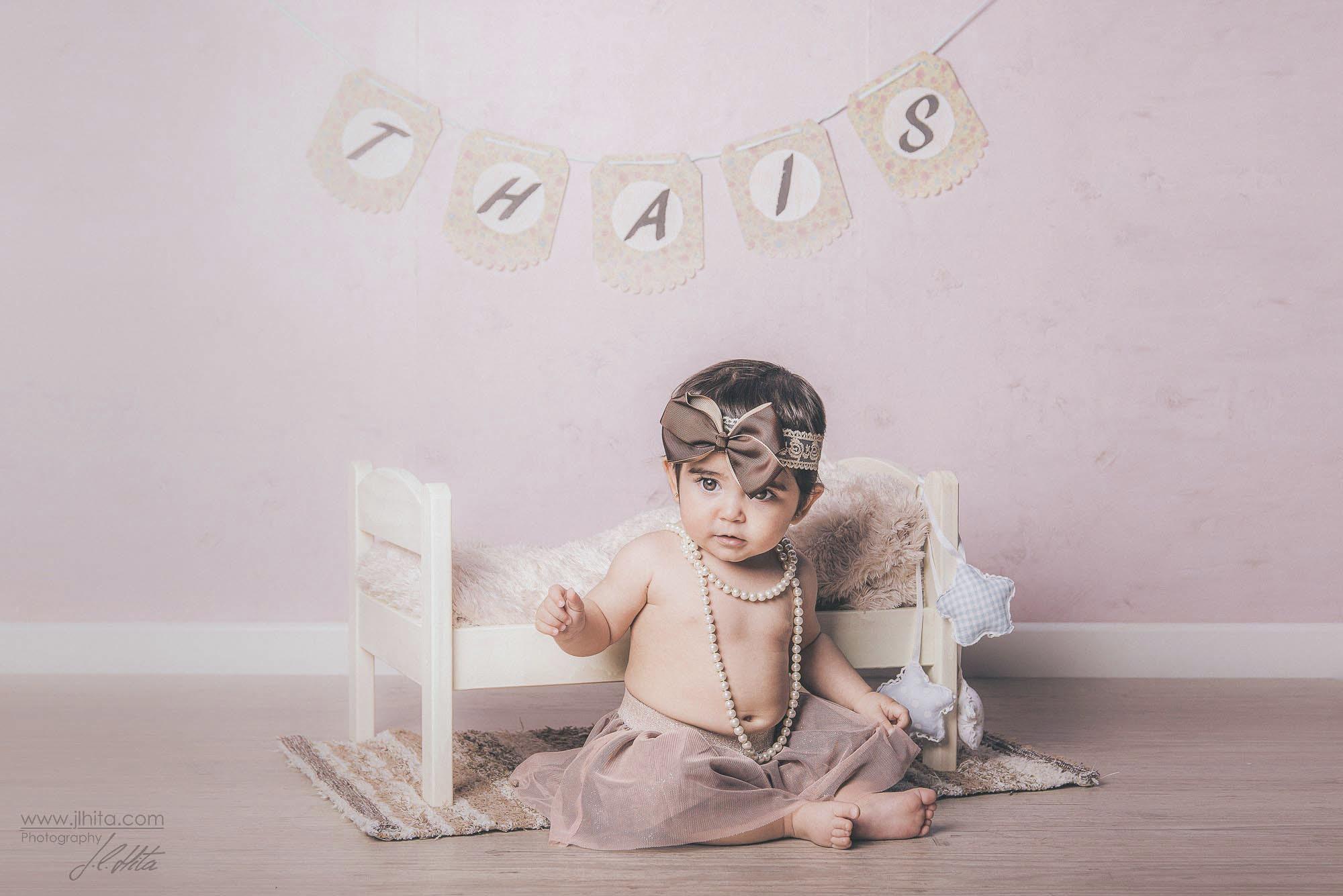 Sesión fotos bebé Thais