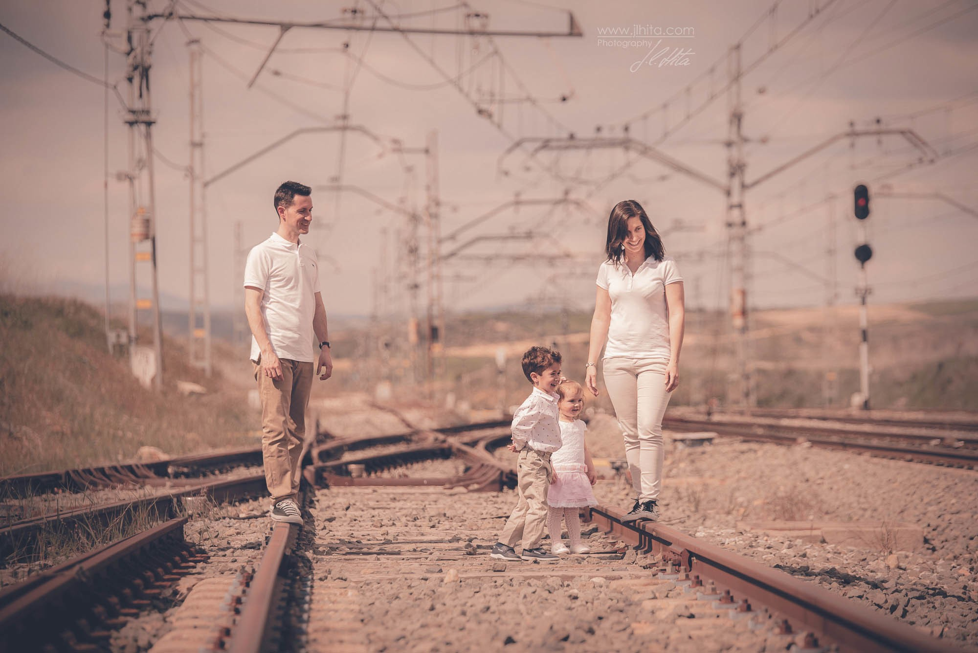 Sesión fotos familia Humanes