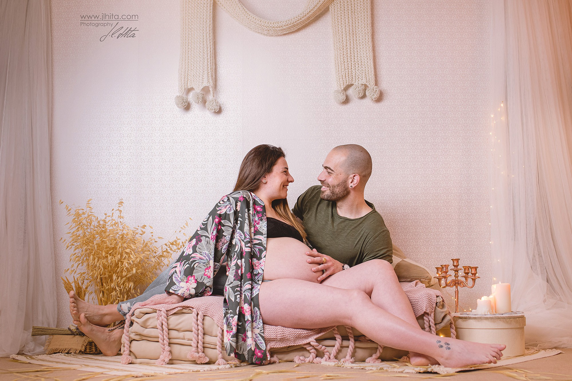 Sesión embarazo Izaskun y Carlos